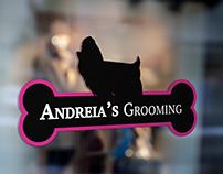 Andreia's Grooming | Logo Creation