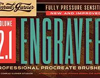 Engraver Brushes - Procreate