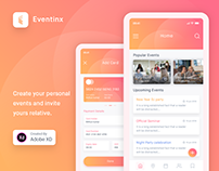 Eventinx- App Design Concept