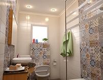 Private Villa - Bathroom Interior Design