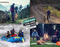 Aquaterra Challenge with Pets - Event Branding