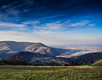"""Żar"" Mountains , Poland"