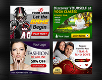 Banner Ads Design - Collection 2015