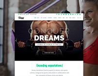 Fitness WordPress Theme - Responsive Site Builder