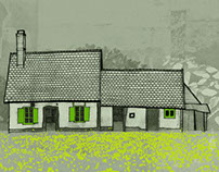 Varengeville House print
