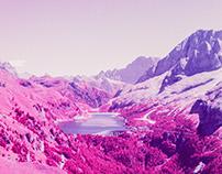 Dolomites in Infrared
