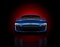 "Audi R8 e-tron 2016 ""electric beast"""