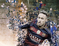 Neymar Illustration