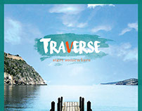 """Traverse""  travel magazine concept"