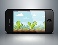 cactus game background