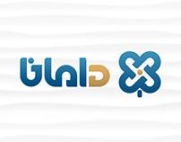 DAMANA branding