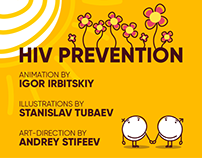"Hiv prevention infographic for ""EVA"""