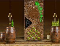 Wine store display concepts
