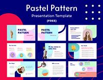 (FREE) Pastel Pattern Presentation Template
