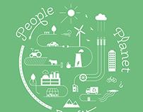 Infographic poster Agentshap voor Natuur en Bos
