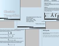 Glossário Tipográfico