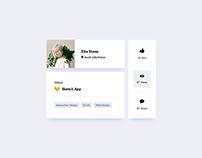 Day 784 • Card UI Design