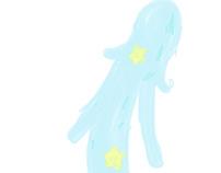Mermaid 泡と星