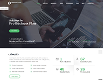 Business Consulting Website - Pebble Softwares