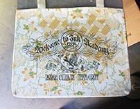 Tote bags for Barbara Calzolari & Tiziana Gironi.