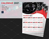Wall Calendar Template