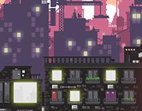 Parallax Pixelart Background