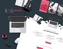 Moroko - Creative Bootstrap Responsive Template