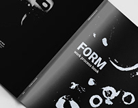 FORM: creative project of exploration & brainstormin