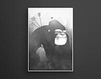 Pfeilgift Gorilla