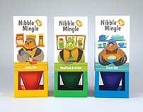 Nibble & Mingle Bird Seed Packaging