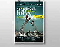 Campagna promozionale 16° Genova Film Festival