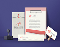 Elin Rees Physiotherapy Logo Design