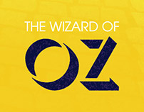 Wizard of Oz - Minimalist Poster