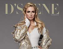 Paris Hilton for D'SCENE Magazine
