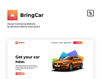DESIGN CARSHARING WEBSITE | WEB DESIGN by NEROKORE