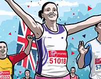 Virgin Media London Marathon 2017