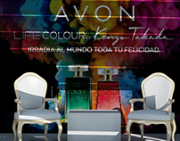 AVON Colombiamoda2019 Stand Rueda Prensa Kenzo Takada
