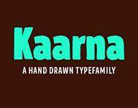 Kaarna typefamily