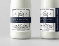 DOODAWON Goat Milk Package Design