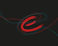 """Hand lettering """"E-vapor""""."""