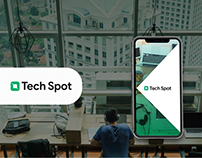 Tech Spot - Plataforma para la búsqueda de hospedaje.