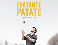 Épatante patate | Book cover