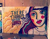 Mural en Casa A