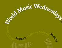 World Music Wednesdays