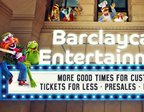 Barclaycard 'Muppets' Campaign