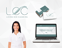 Living Eco Cleaning Branding