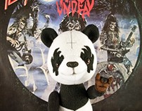 Metal Panda, poseable art toy