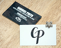 Mechanic Business Card.