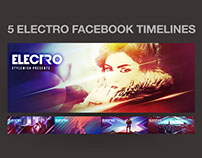 5 Electro Facebook Timeline Covers