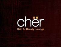 Cher Hair & Beauty Salon Logo